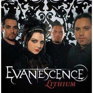 letras lithium evanescence: